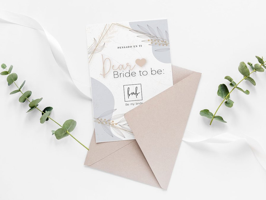 Dear bride to be agenda para novias be my bride