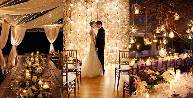 Si te casas de noche no puedes ahorrar en una boda