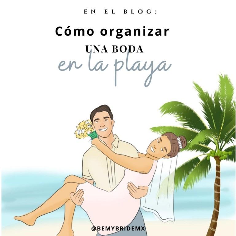como organizar una boda en la playa