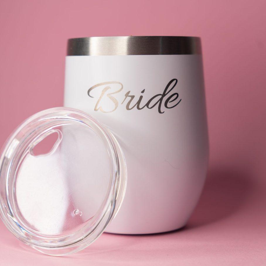 Vaso de acero Bride