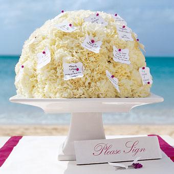 Carnation Centerpiece- Brides.com