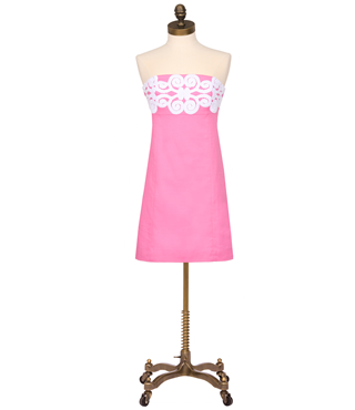 Bowen Dress Solid Lace by Lilly- $248