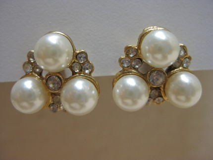 Vintage Earrings from Vintage Alcove- Etsy
