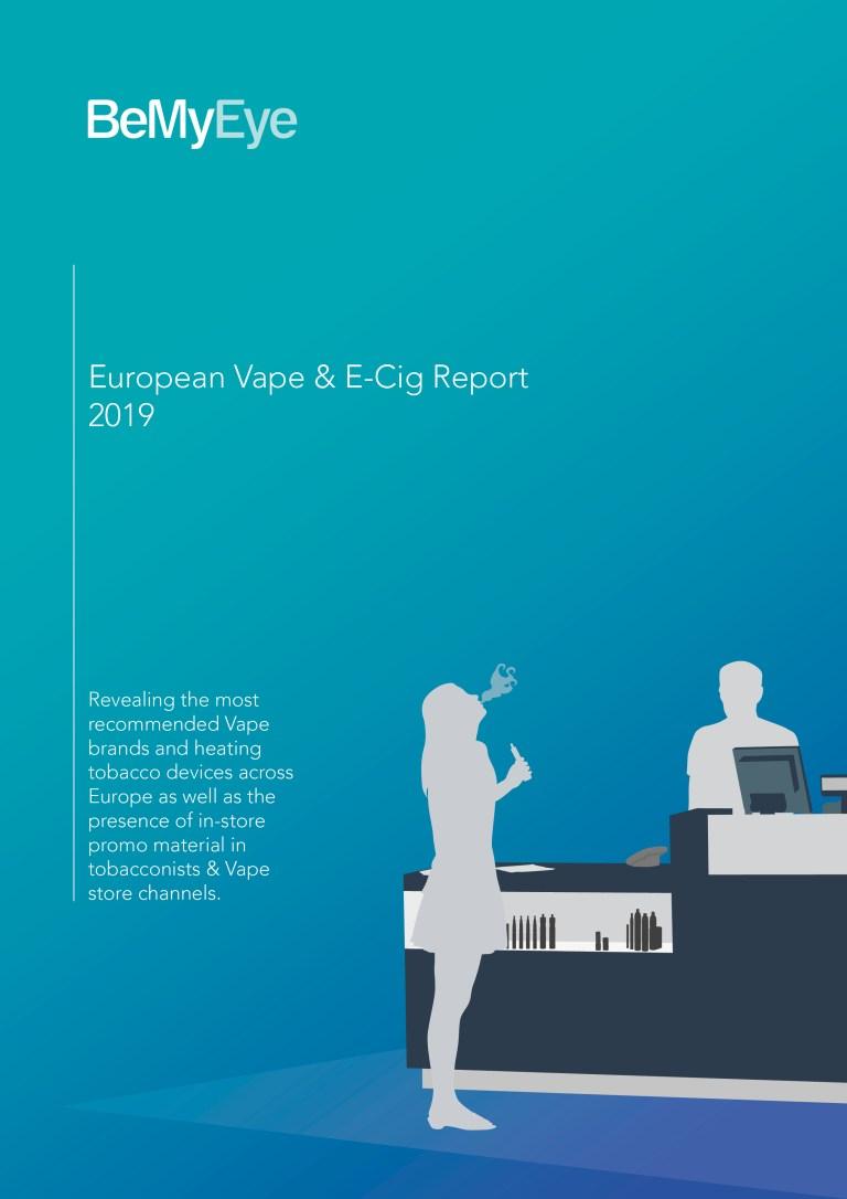 E-cigarette & THP European Brand Recommendation Statistics cover