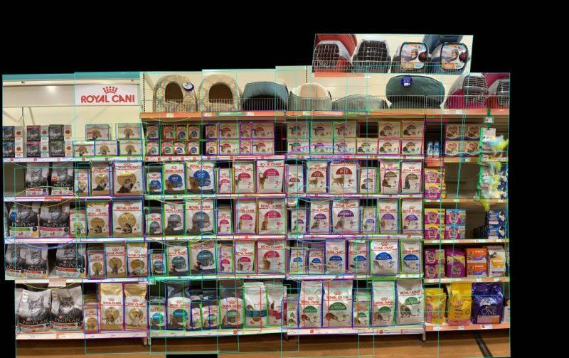 Royal Canin pet food shelf