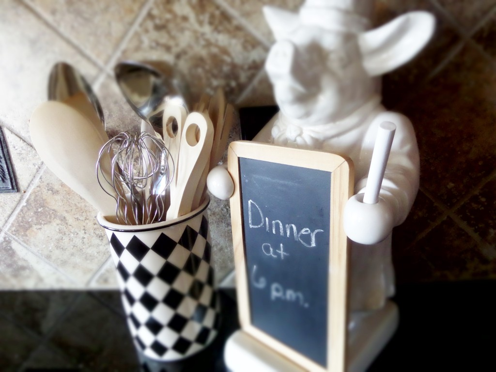 decorative chalkboard for kitchen mdf cabinet doors thrifty find – be my guest with denise