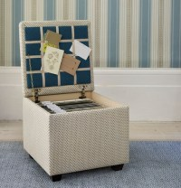 DIY: File Storage Ottoman  Be My Guest With Denise