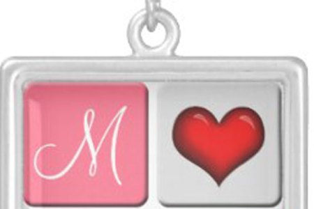 Personalized Valentine Love Necklaces