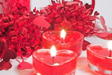 Candles & Candle Holders for Valentine's Day Decorations
