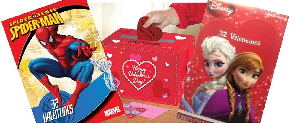 Valentines Day Boxed Cards For Kids To Exchange Be My