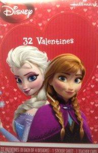 frozen valentines cards