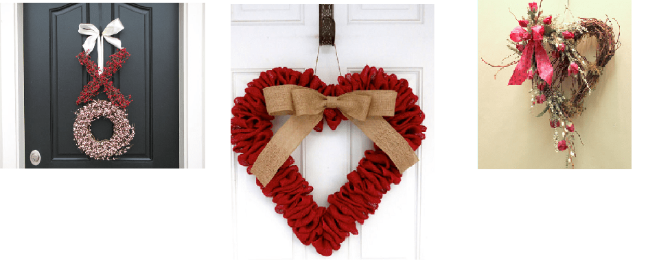 Valentine's Day Wreaths Make Lovely Valentine Home Decor