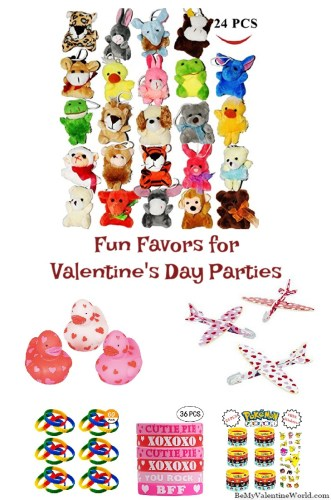 Favors for Valentines Day Parties
