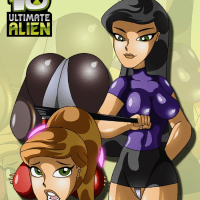Ben 10 Ultimate Alien: Family Bonding - All Gwen's naughty desires become true in one night!