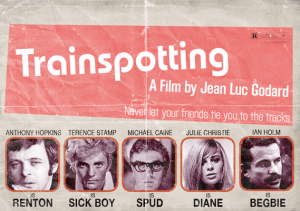 """Trainspotting"" What If... Poster © 2011 by Peter Stults"