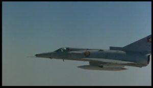 Aviones en el cine Águila de acero