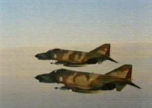 Aviones en el cine Águila de Acero 2