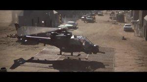 Helicópteros en el cine Trueno Azul