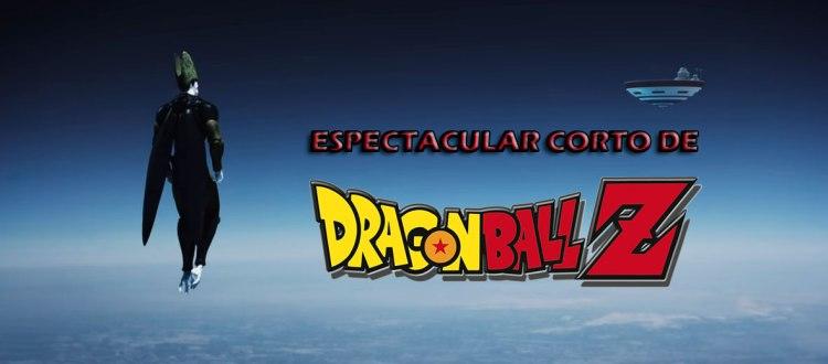 espectacular corto de dragon ball z cielo
