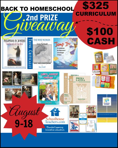 Awesome, Incredible Homeschool Giveaway: $765 Curriculum +