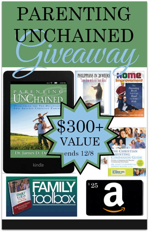 Parenting Unchained Kindle Paperwhite Giveaway