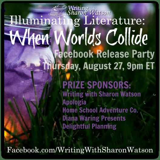 Writing with Sharon Watson Illuminating Literature Facebook Party