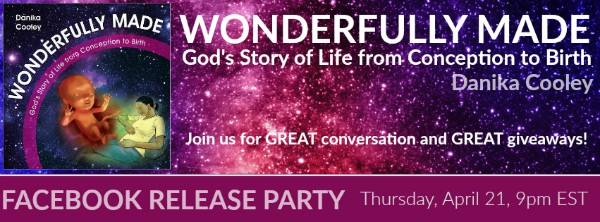 Wonderfully Made Facebook Release Party, Thursday, April 21, 9pm EST