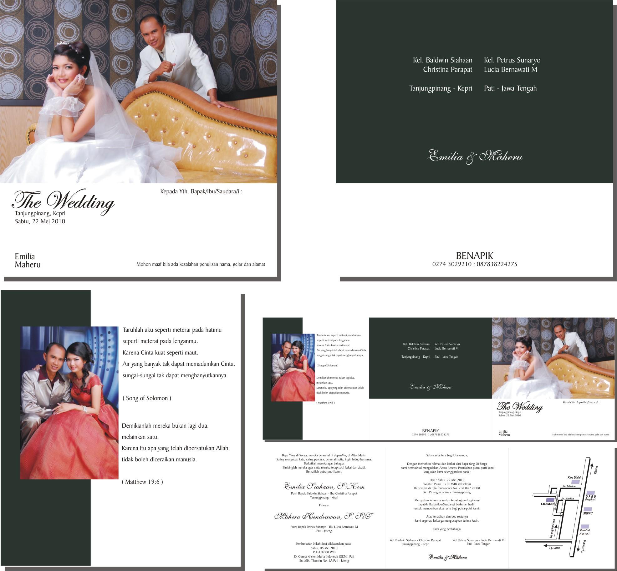 Contoh Surat Undangan Pernikahan Hello 28 Images Inspirational
