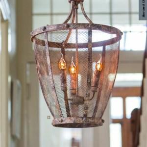 Hanglamp antiek roest