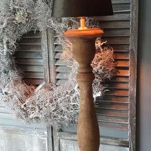 Balusterlamp bruin | voor een landelijk interieur Benard's Woonaccessoires