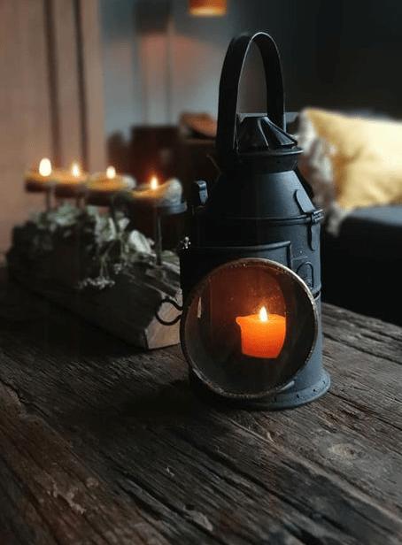 Original railroad AS&CO lantern