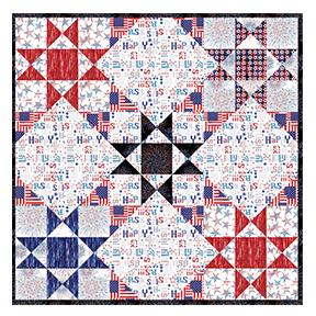 Star Spangled Picnic Quilt