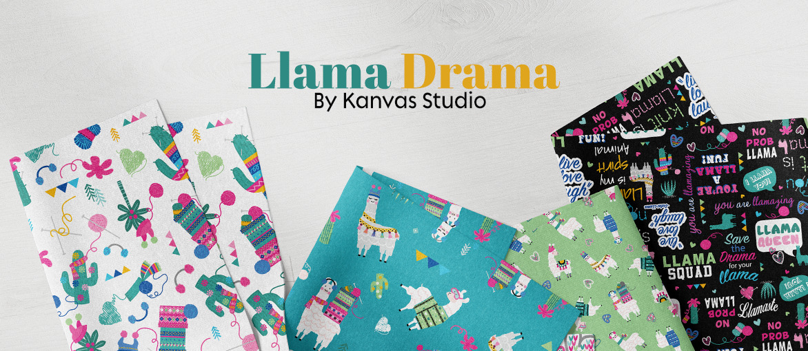 Llama Drama by Kanvas Studio