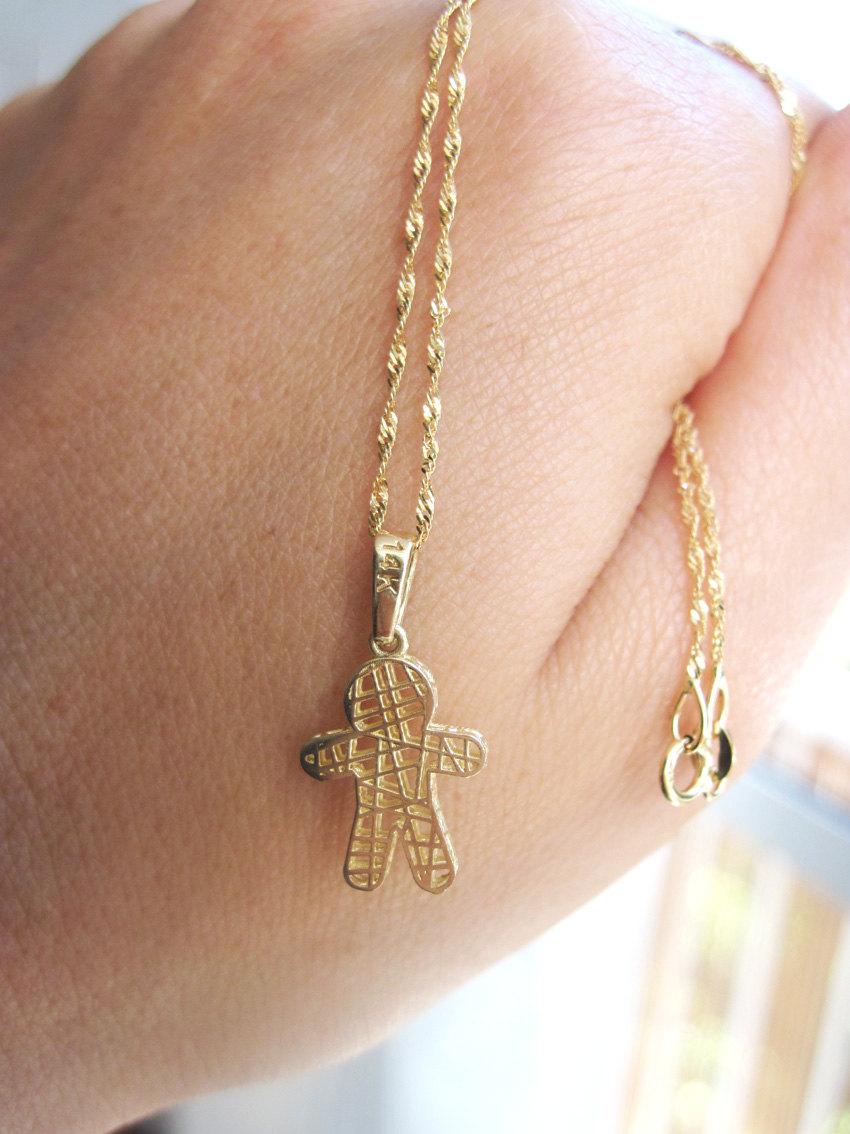 Baby Gold Chain Boy : chain, Super, Solid, Newborn, Pendant, Mother, Grandmother, Grandma, Benati