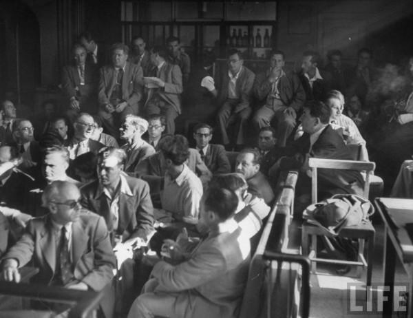 Jews take over as British Mandate ends. May 1948. Frank Scherschel