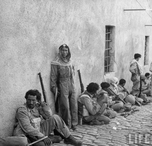 Arab Legion in Jerusalem. May 1948. John Phillips