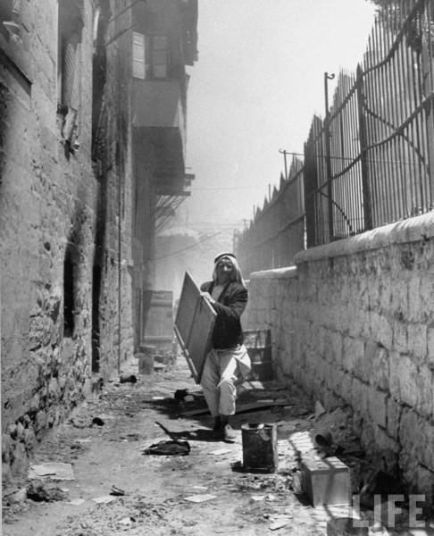 Looting of the Jewish Jerusalem, John Phillips. Jume 1948