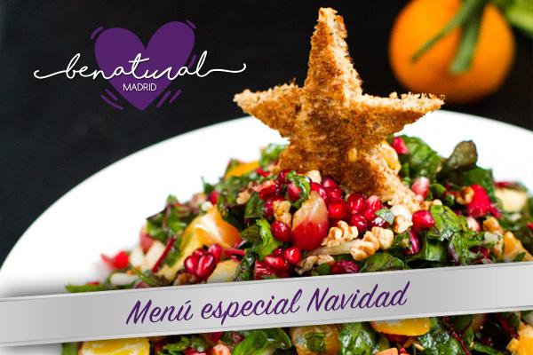 Menú especial de Navidad BeNatural
