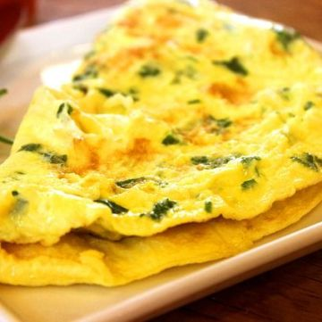 How to make a Healthy Spanish omelet