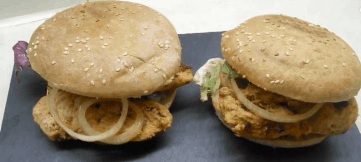Chicken Steak Burger Recipe