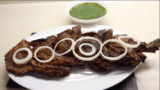 Afghan Grilled Lamb Chops Recipe