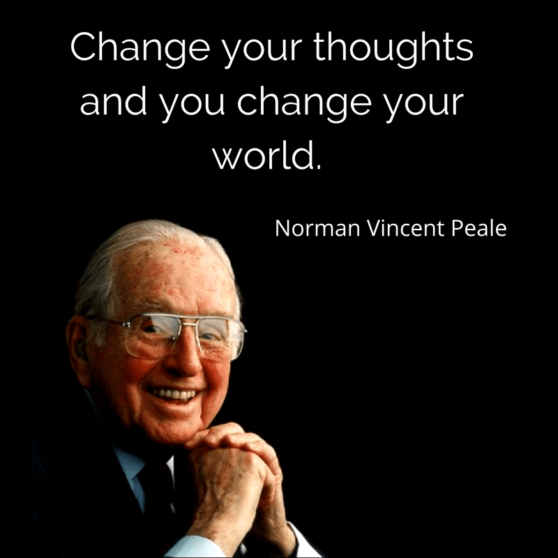 The Power Of Positive Thinking Quotes Norman Vincent Peale: A New Angle On Trump And The Alt-Right: Magick!