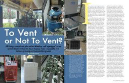 """""""To Vent or Not To Vent"""" magazine article design"""