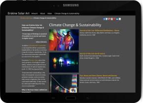 ClimateChange Galaxy Tab Landscape