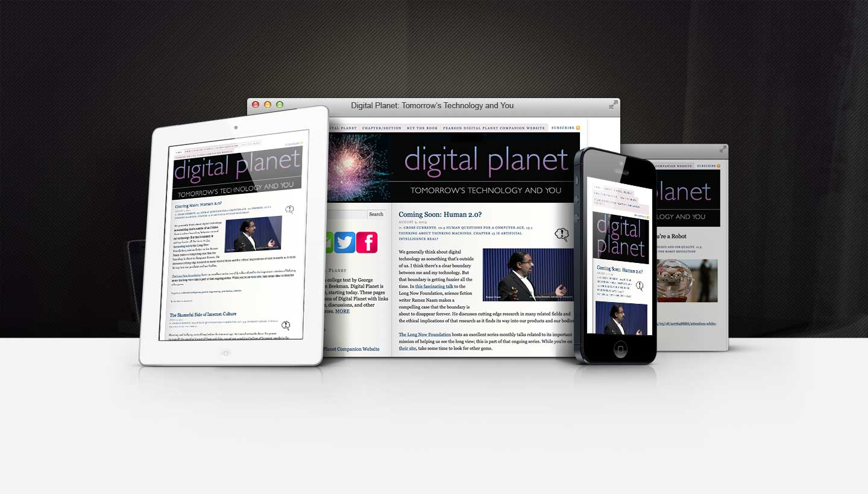 Digital Planet Responsive Showcase