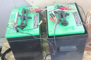 232Ah Interstate GC2-XHD 6-volt batteries in series