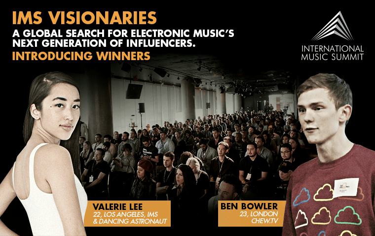 International Music Summit – Young Industry Leader Announcement
