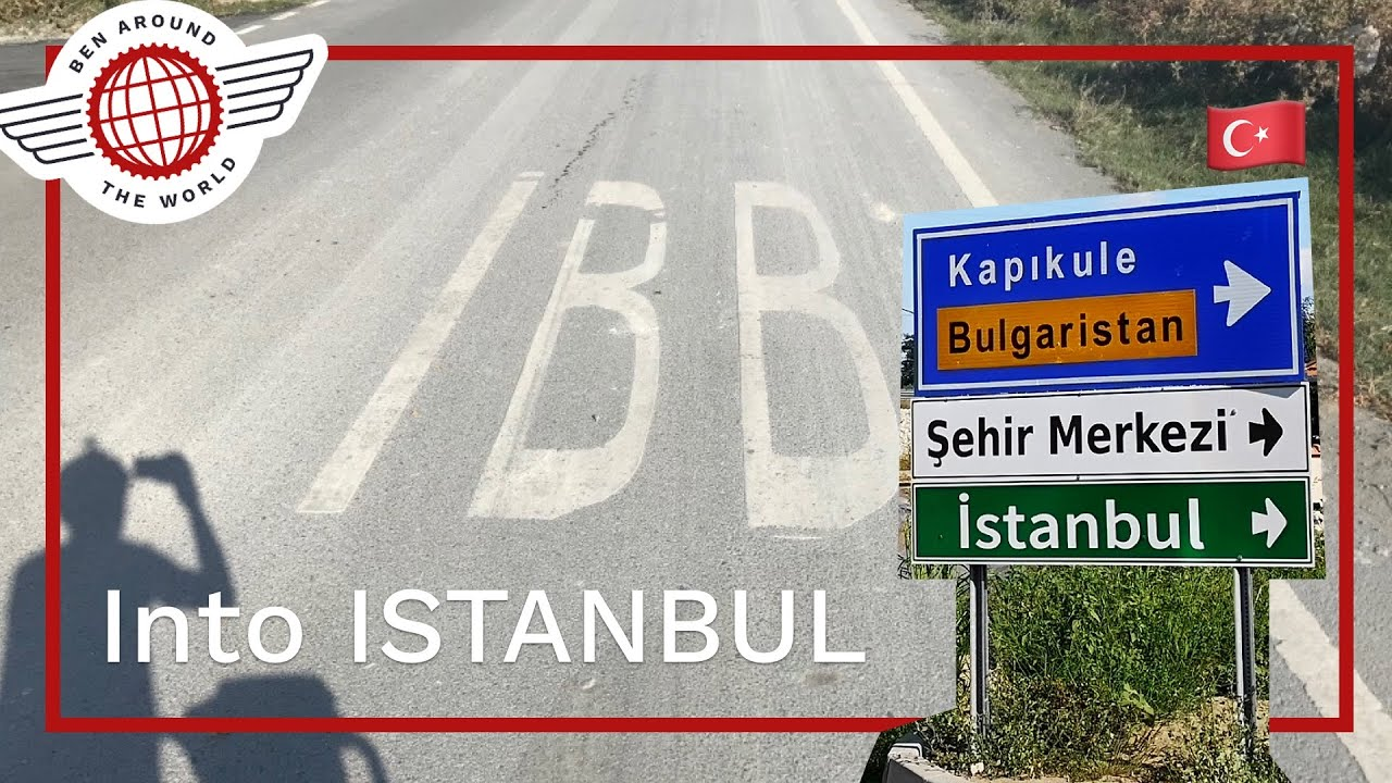 Cycle Touring Into ISTANBUL