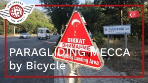 PARAGLIDING MECCA by Bicycle, Oludeniz