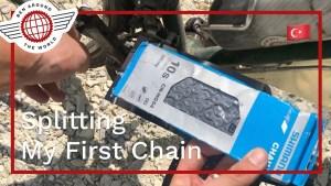 Splitting My First Chain
